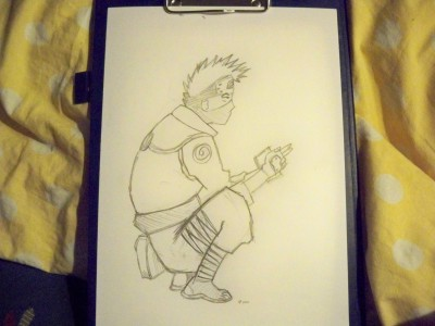 i suck at drawing naruto charachters